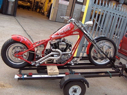 Chopper Bike Exhaust