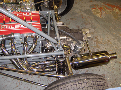 Brabham Manifold and Repackable Silencer
