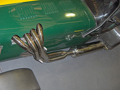 Caterham Equal Length Manifold and Repackable Exhaust