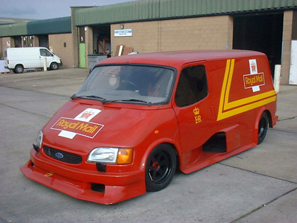 Ford SuperVan - Royal Mail Livery