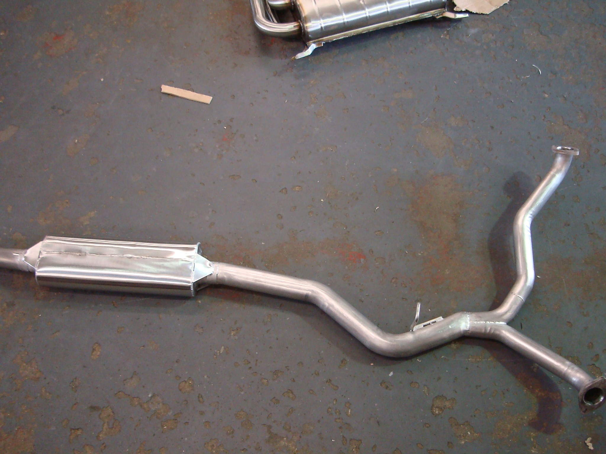 Subaru Legacy 3 litre Centre Pipe with Silencer for models 2004 on