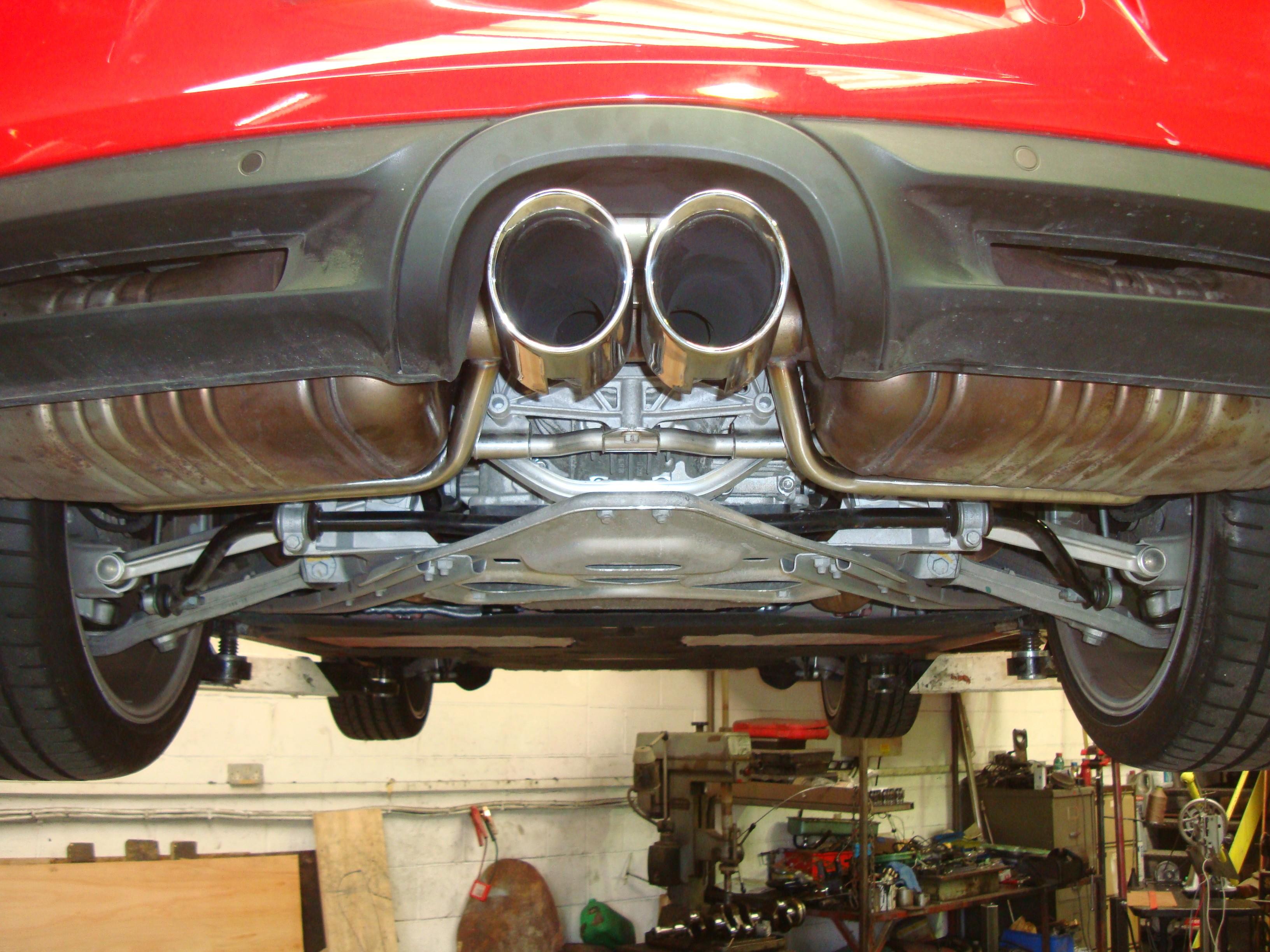 Porsche Boxster 987 Bypass Mod