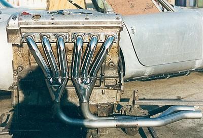 XK140/XK150 Manifold