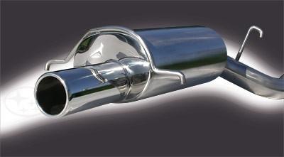 Subaru Legacy Twin Turbo Backbox for Saloon models up to 1997-98