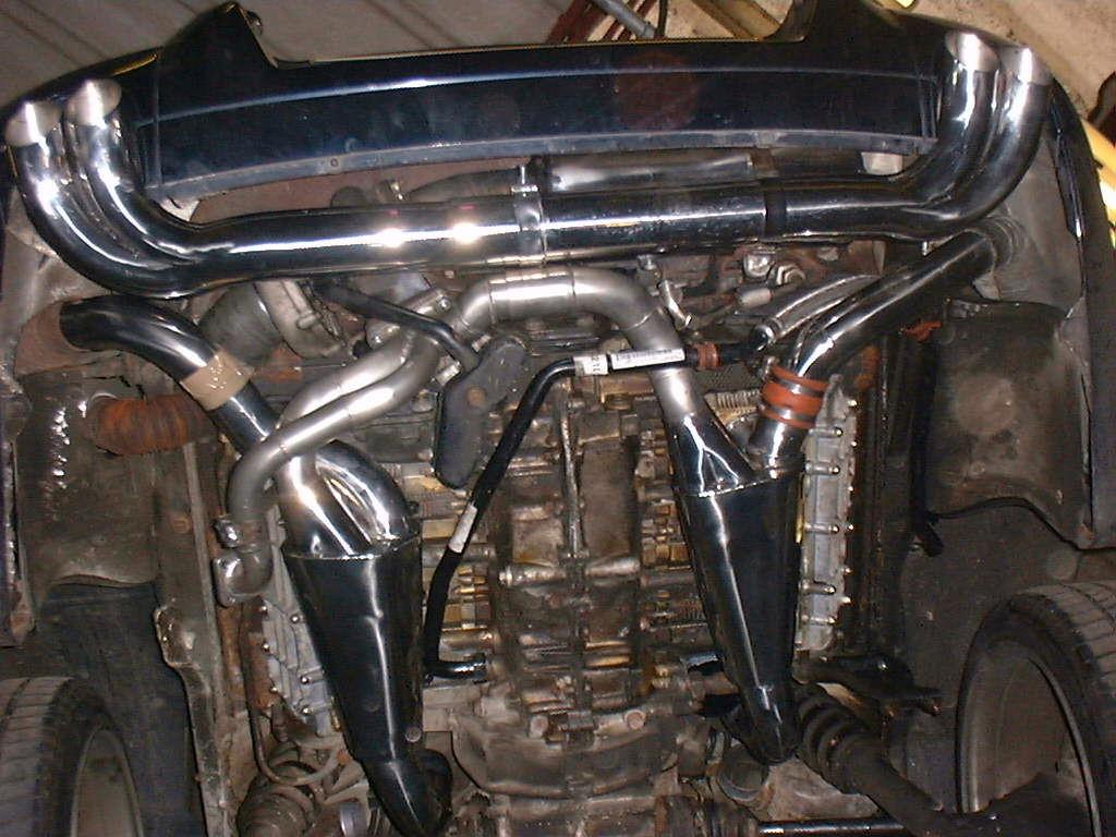 Porsche 3.3/3.6 964 Turbo de-cat Complete System