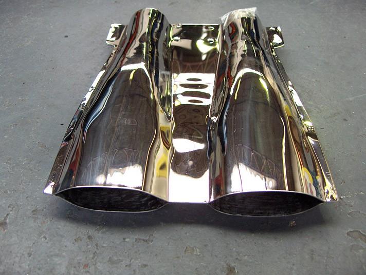 Jaguar E-Type V12 Twin Outlet Fantail