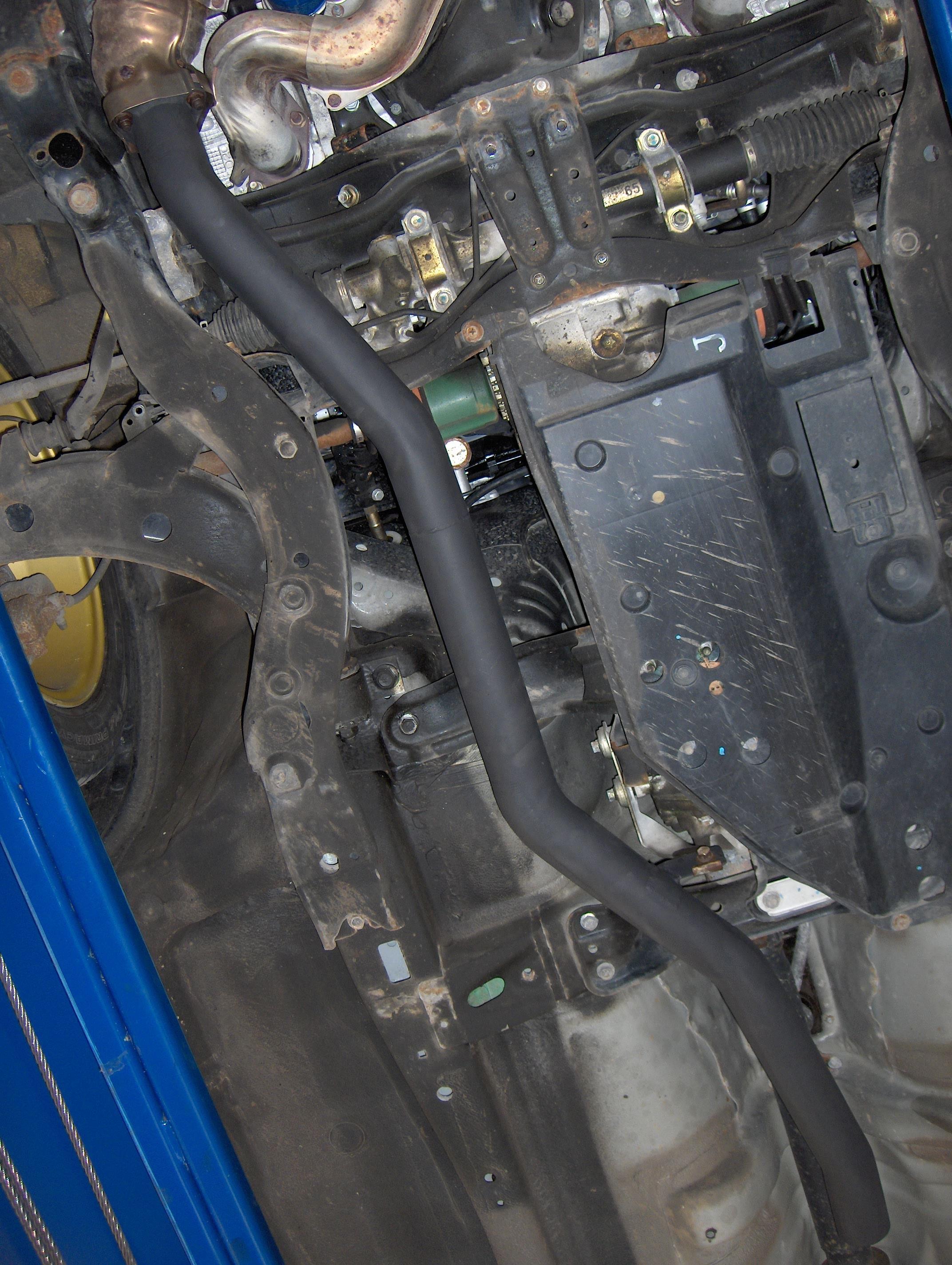 06/07 2.5L Secondary Cat De-Cat Pipe Sport Non-Turbo