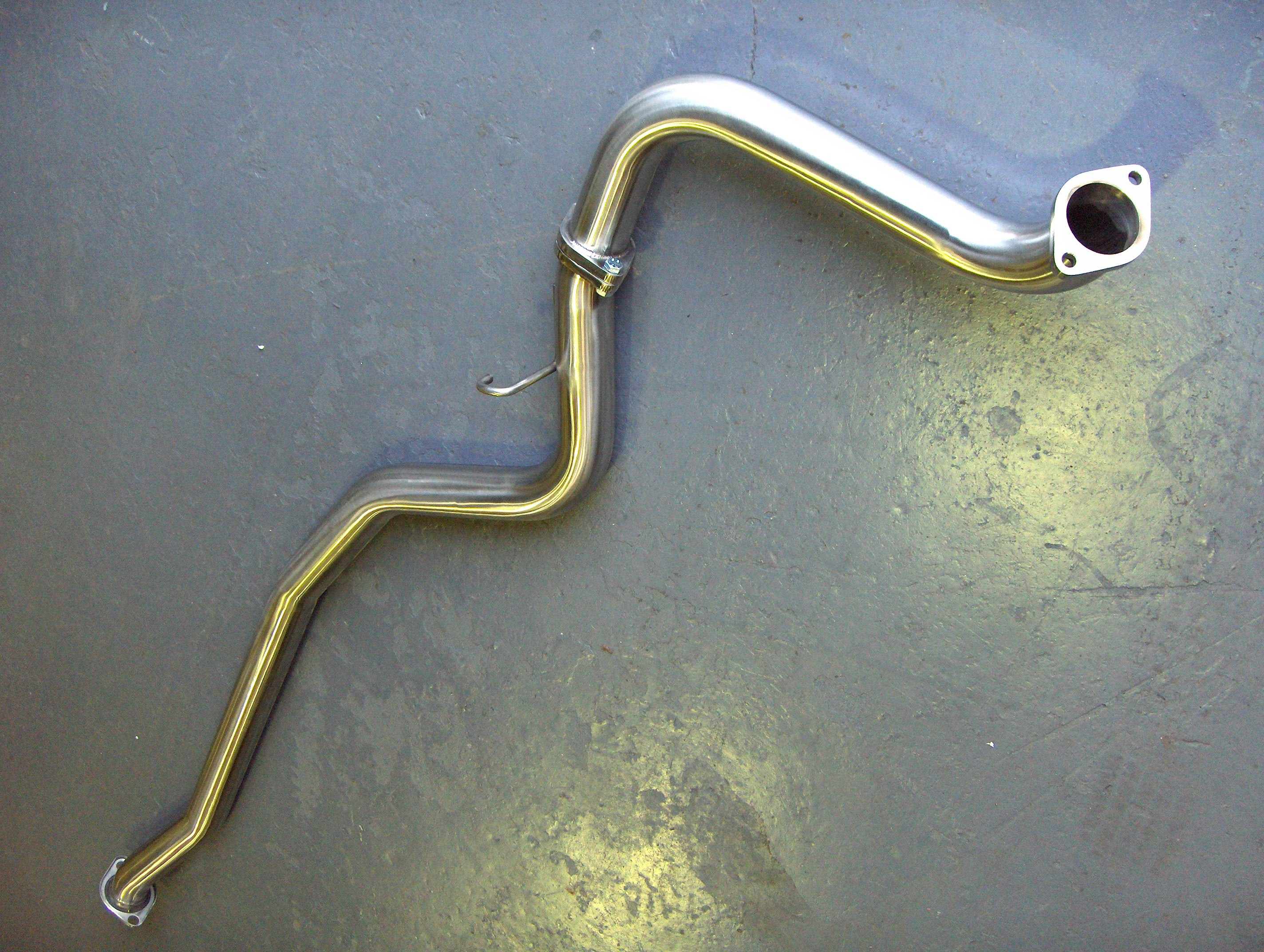 2008 Silenced Centre Pipe for Non-Turbo Hatchback