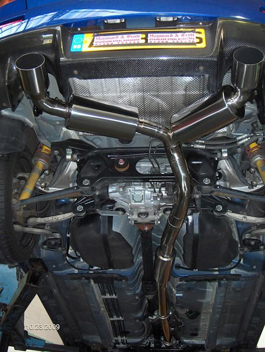 Mitsubishi Evo X Cat Back System