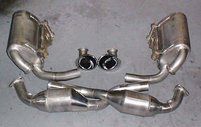 996 Pair of sports silencers