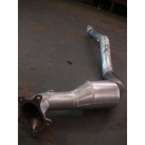 Subaru Legacy GT Spec B 2004 (Twin Scroll) Downpipe with High Flow Cat