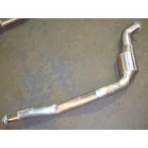 2008 One Piece Downpipe with High Flow Cat