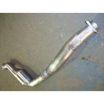 "2008 3"" One Piece Downpipe with High Flow Cat"
