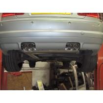 BMW E46 M3 Quad Outlet Backbox
