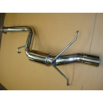 "Subaru Forester 2.5"" Group A Replica Rear Silencer - Polished"