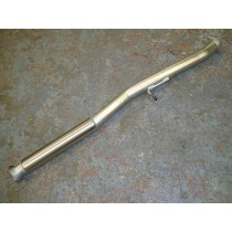 "2.5"" Centre Pipe with Silencer - New Age"