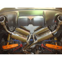 Toyota GT86 with Helmholtz Chambered Rear Silencers and Silenced Centre Pipe