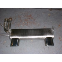 BMW M3 E46 6 Cylinder Quad Outlet Rear Backbox