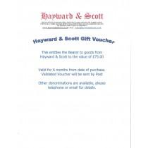 Gift Voucher £75.00