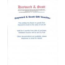 Gift Voucher £25.00