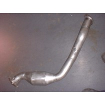 """2008 3"""" One Piece Downpipe with 200 Cell High Flow Cat"""
