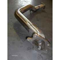 "One Piece Twin Scroll Downpipe for JDM Models with 3"" down to 2.5"" Pipework"