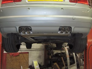 BMW E46 M3 Quad Outlet Backbox
