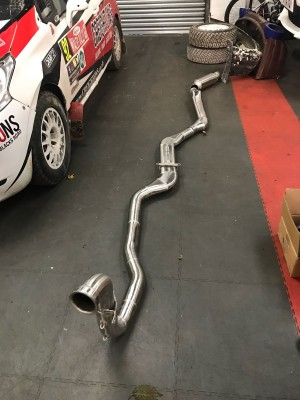 Ford Escort Cosworth Rear Exit round beam