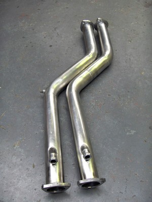 BMW M3 E46 Cat Replacement Pipes