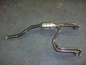 Subaru non-Turbo Manifold with High flow cat