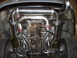 Porsche 964 Complete System Single outlet