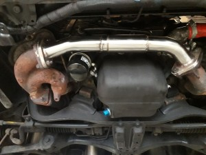 Subaru Impreza Turbo Manifold Cross over Pipe