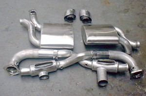 993 Turbo 4 - pair of sports silencers