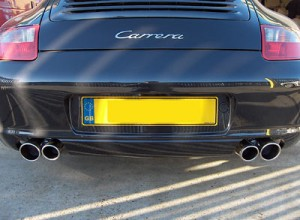 997 Quad tail pipe