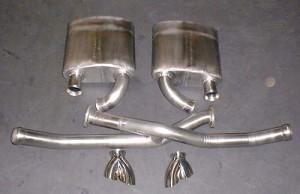 Porsche 993 sports silencers